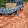 Chuvas deixam estradas destruídas em Quixeramobim