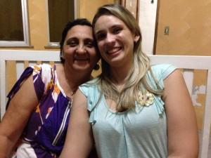 Nova Secretária, Selene Bandeira, ao lado de ex-secretária Lívia Mara