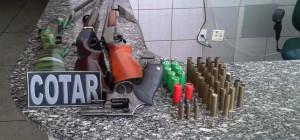 Homem é preso com armas e munições na AIS 15