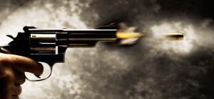 Speeding Bullet Shot from Revolver bxp137715h